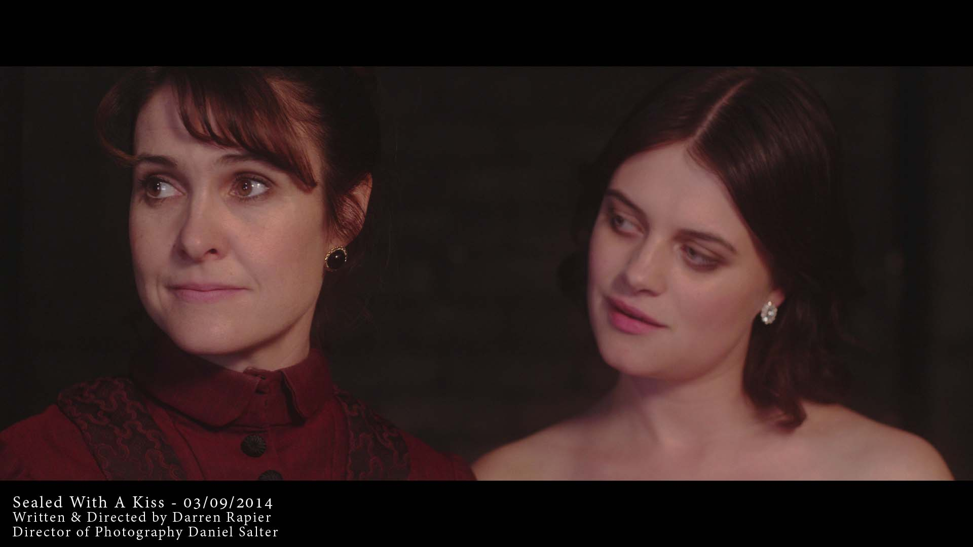 Gillian Kearney and Abigail Hardingham in Sealed With a Kiss